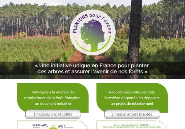 GT Location partenaire de Plantons pour l'avenir